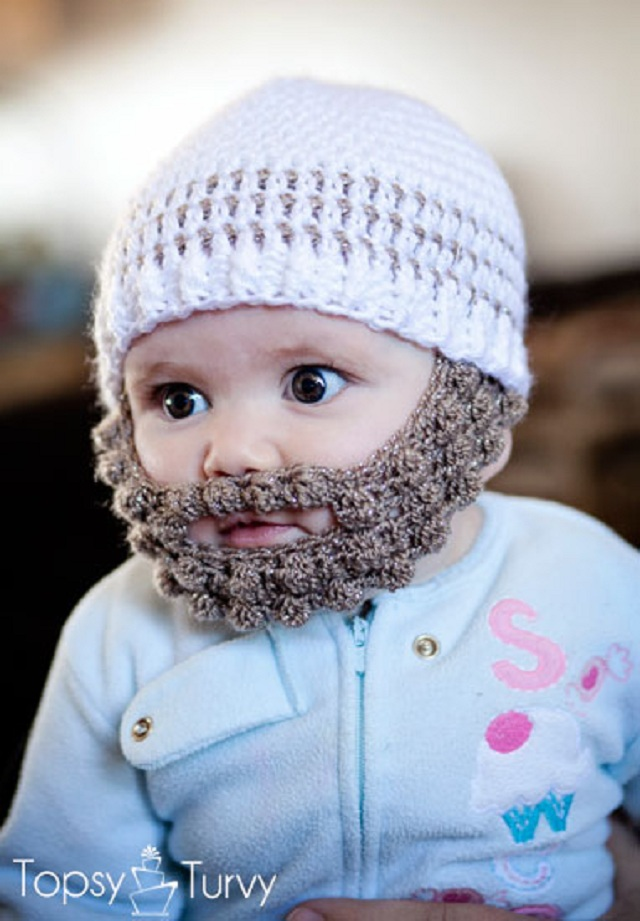 Free Crochet Beard Hat Pattern Motorcycle Review and ...