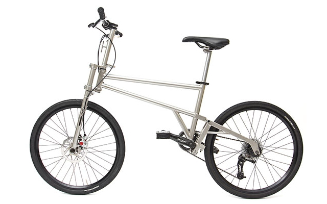 自転車の 自転車の車輪のサイズ : 自転車はここまで折りたため ...