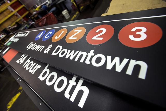 ニューヨークの地下鉄を支える、グラフィックデザインのお話