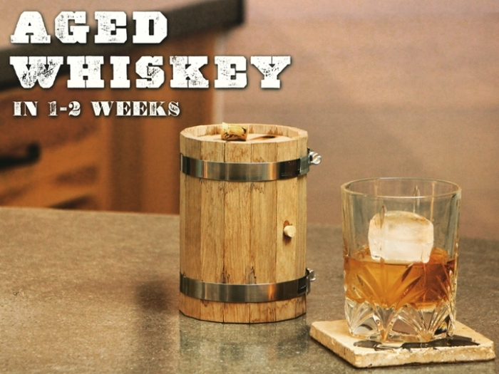 diy diy mini whiskey barrel roomie