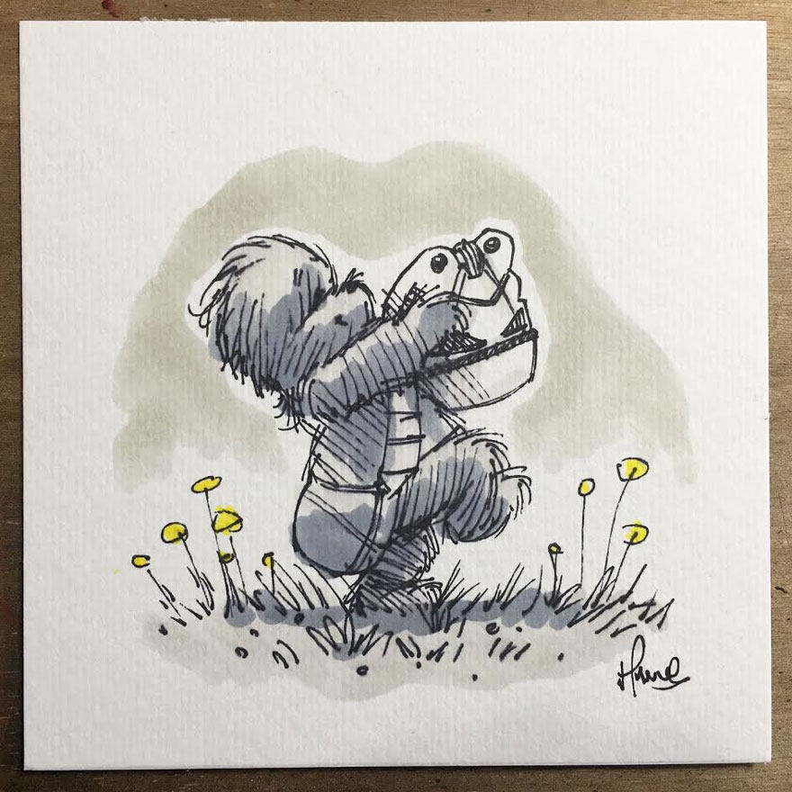 160119star-wars-characters-winnie-the-pooh-wookie-the-chew-james-hance-2