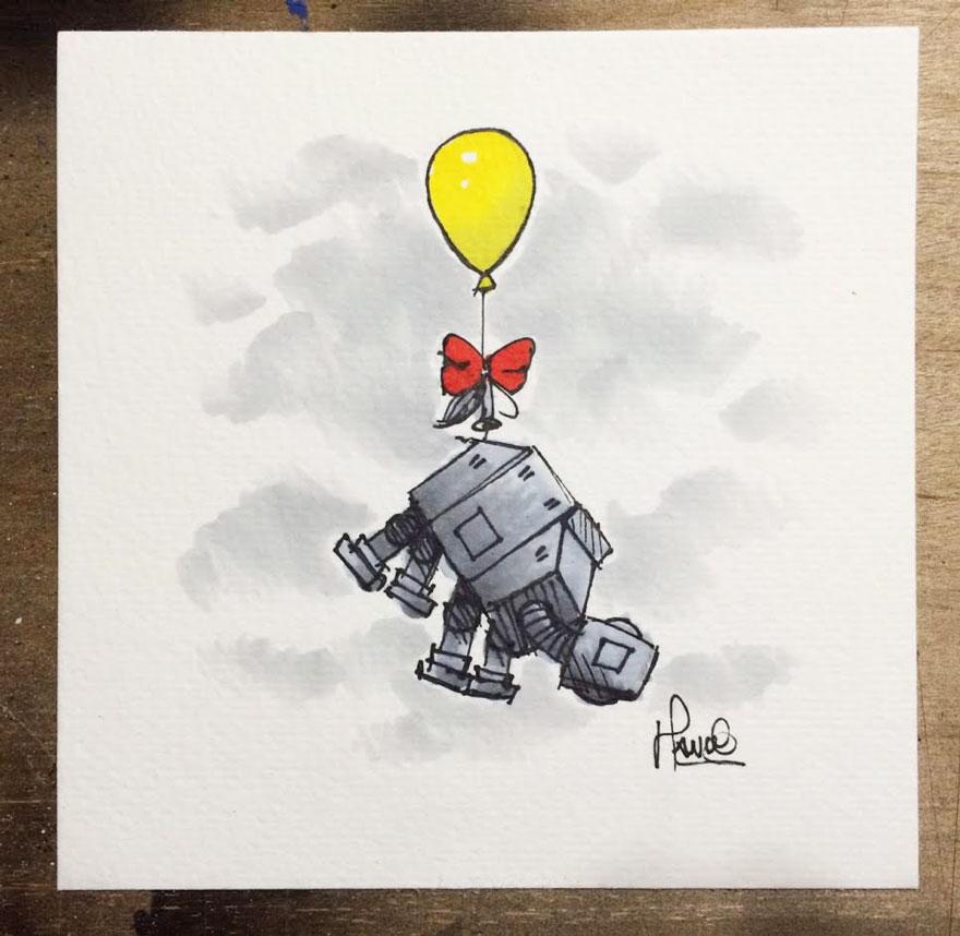 160119star-wars-characters-winnie-the-pooh-wookie-the-chew-james-hance-7