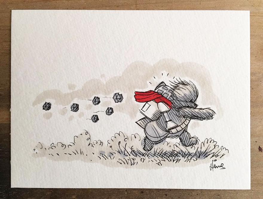 160119star-wars-characters-winnie-the-pooh-wookie-the-chew-james-hance-12