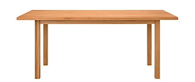 オーク無垢材ダイニングテーブル1