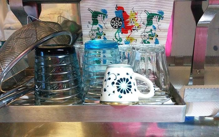 食器の水切りカゴ