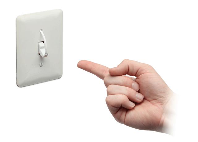 Useless Light Switch