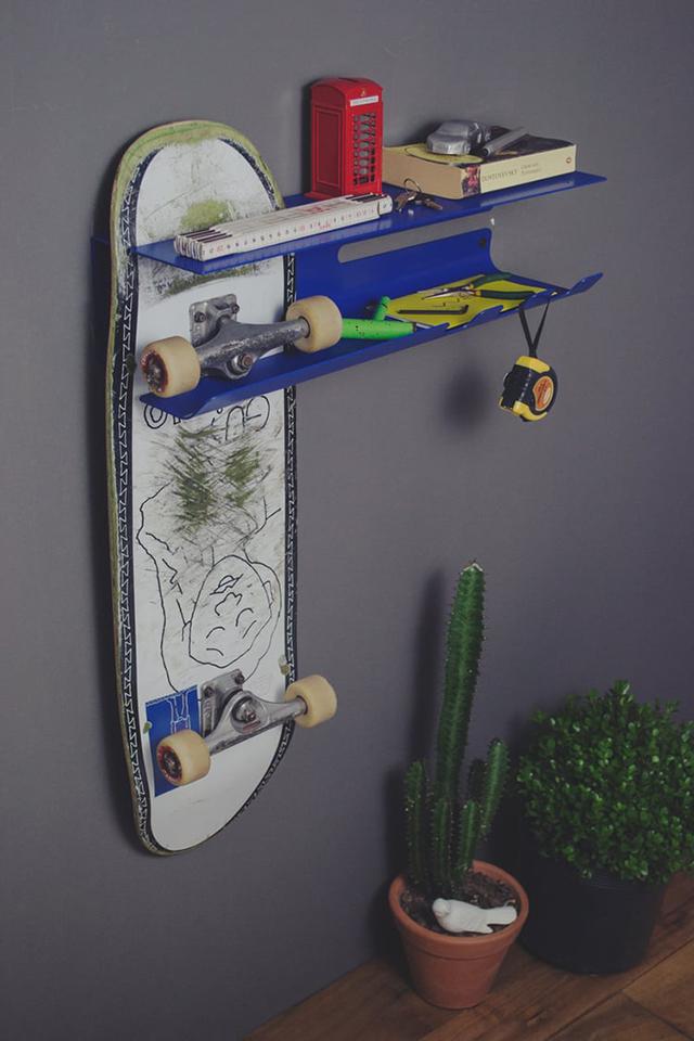 スケートボード収納4