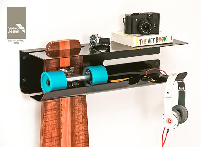 スケートボード収納1