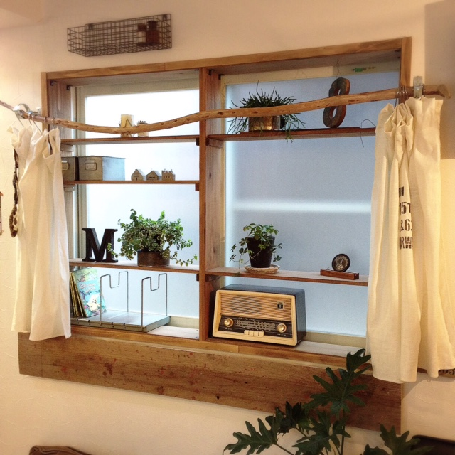 木製窓枠_DIY_6