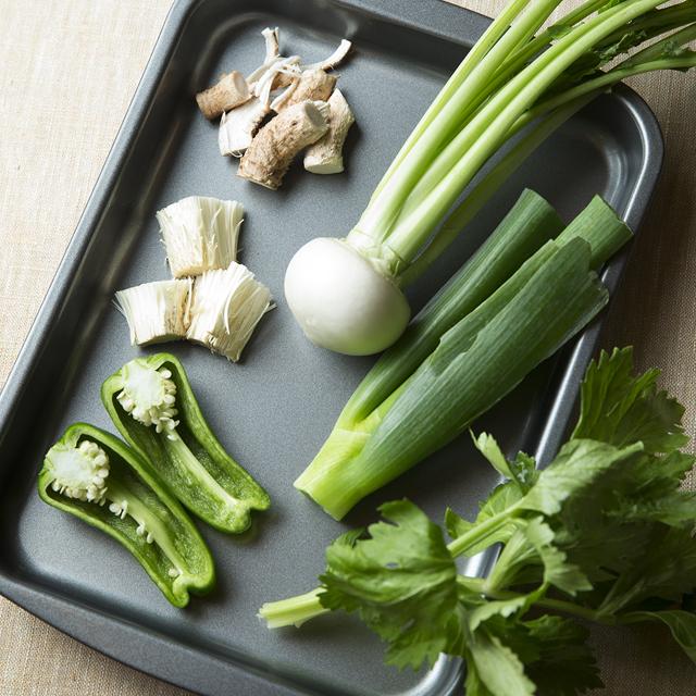 野菜の捨てるところを入れる餃子のおいしいレシピ