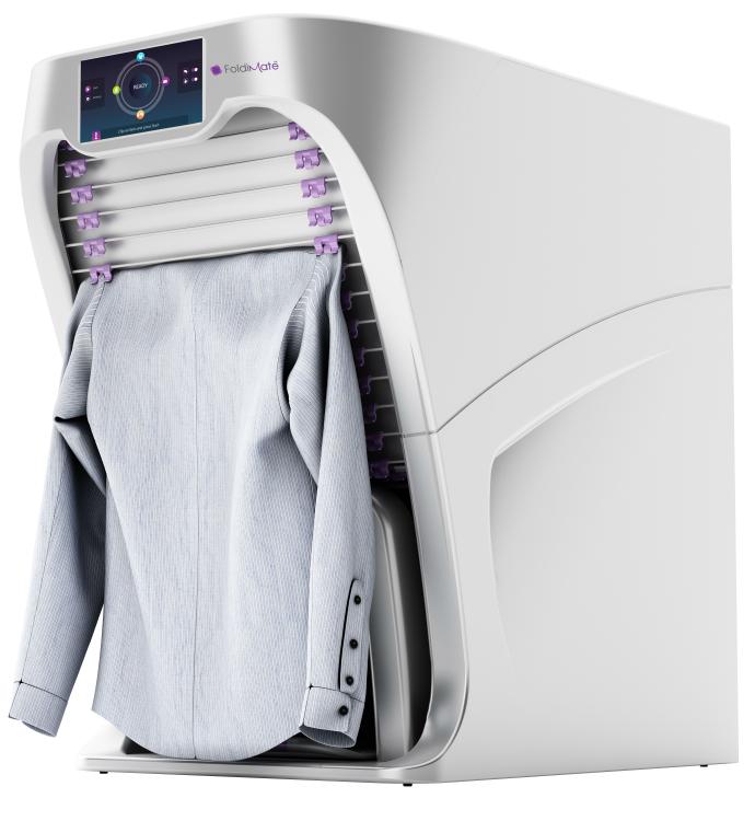 日本のパナソニック、大和ハウス、セブン・ドリーマーズ・ラボラトリーズが共同開発している「landoroid」を追い越して、カリフォルニア発のフルオート洗濯物畳み機、「FoldiMate」が話題をかっさらいました_1