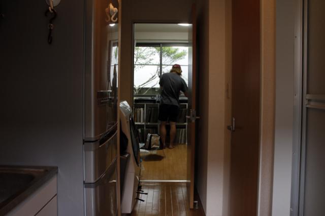 レコードとDJとウーパールーパーを愛して渋谷で暮らす部屋_4