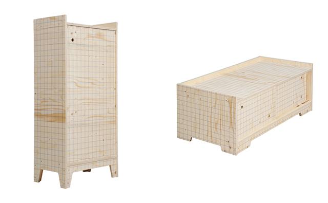オランダのデザイナーPiet Hein Eekピート・ヘイン・イークによる廃材を利用してリサイクルやサスティナブルを意識した家具_6