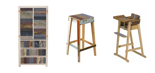 オランダのデザイナーPiet Hein Eekピート・ヘイン・イークによる廃材を利用してリサイクルやサスティナブルを意識した家具_2