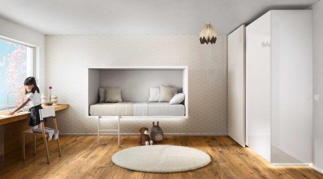 イノベーティブなイタリアン家具ブランドLAGOのッズも自分の楽しい空間を持てるベッド_4