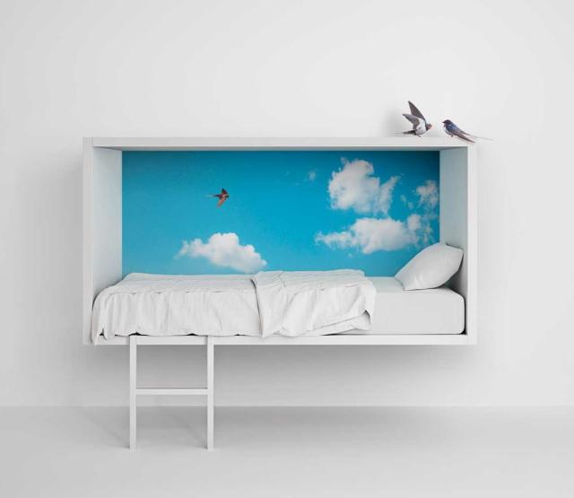 イノベーティブなイタリアン家具ブランドLAGOのッズも自分の楽しい空間を持てるベッド