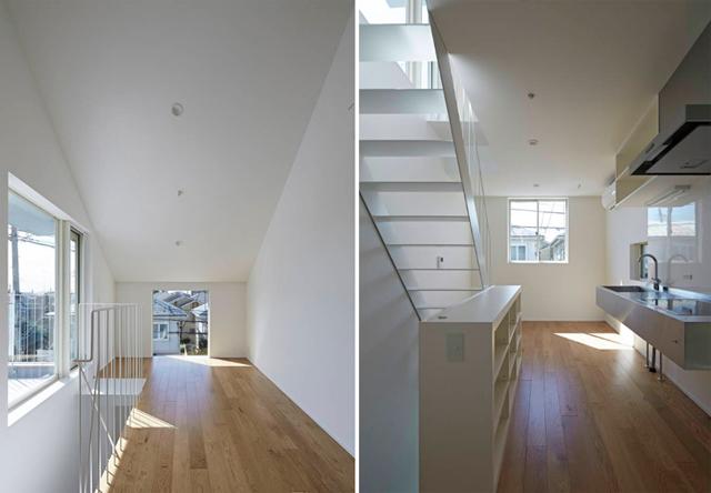 池田雪絵建築設計事務所によるコミュニティも1人でも過ごせる光が明るくデザイナーズでおしゃれな東京の賃貸住宅_6