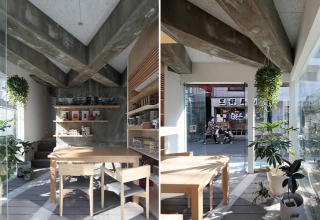 商店街を活性化するツリーハウスのようなおもしろくてデザイナーズな事務所併用住宅の建て替え_9