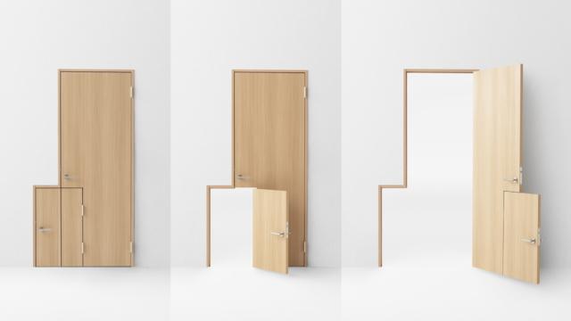 デザイン会社nendoが阿部興業の70周年を記念して制作した7種類のドア_3