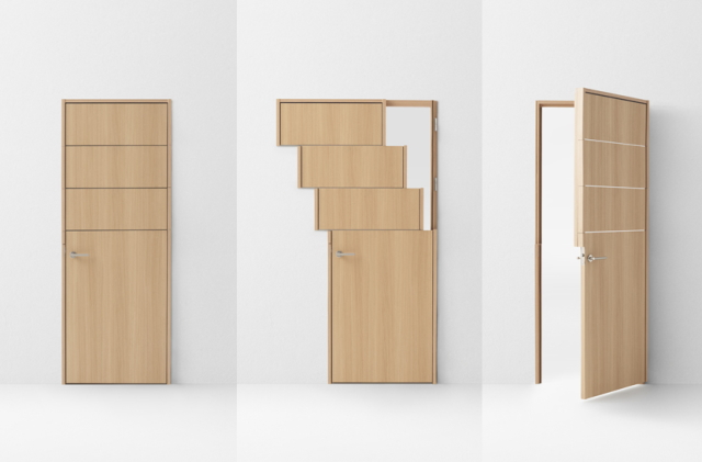 デザイン会社nendoが阿部興業の70周年を記念して制作した7種類のドア_5