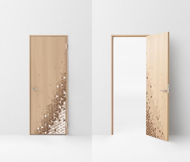 デザイン会社nendoが阿部興業の70周年を記念して制作した7種類のドア_6