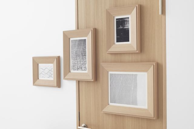 デザイン会社nendoが阿部興業の70周年を記念して制作した便利なドア