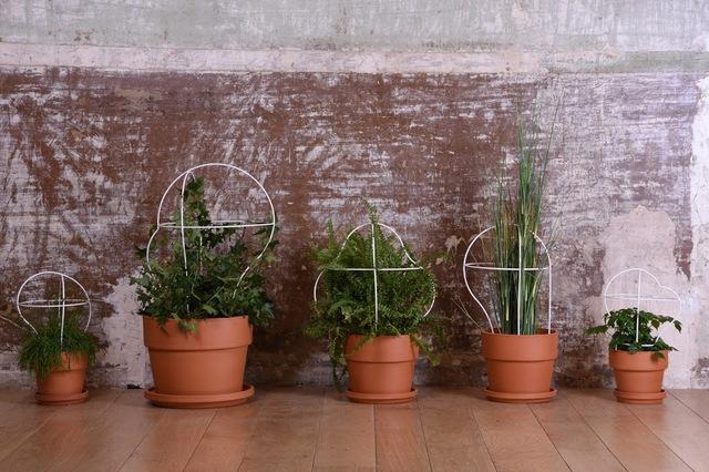 遊び心と実用性を兼ね備えるフランスのデザイナー集団enostudioによるかわいい植木鉢