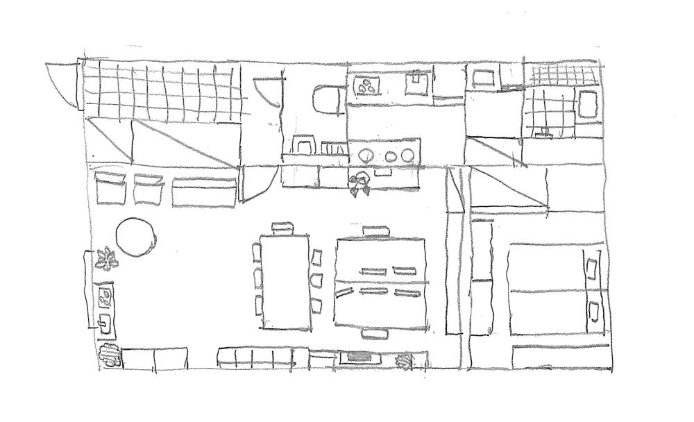 ラストレーターの伊藤和人さんとシラキハラメグミさんによるイラストレーションユニット「seesaw.」がアンティークでモダンにリノベーションした素敵なマンション_5