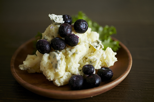 ブルーベリーとチーズのポテトサラダのレシピ