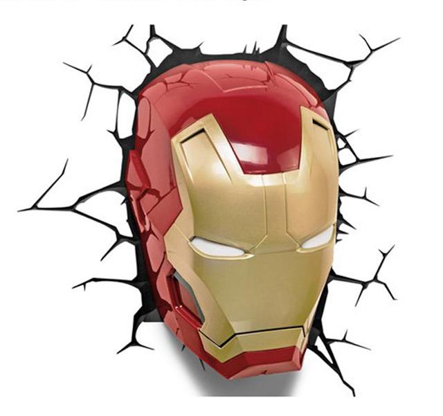ニューヨークの漫画出版社であるMARVELが生んだ、最強のヒーロー集団アベンジャーズより、アイアンマン、スパイダーマン、キャプテン・アメリカ、マイティ・ソー、ハルクをそれぞれランプにしてみました_1