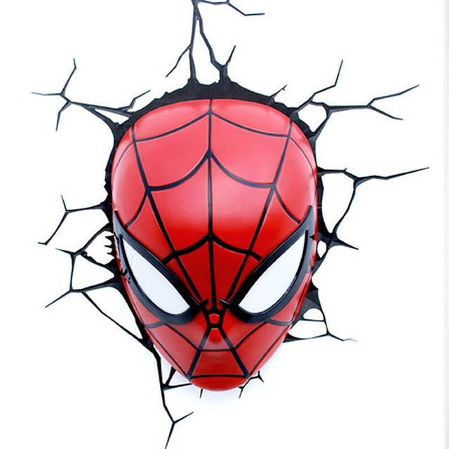 ニューヨークの漫画出版社であるMARVELが生んだ、最強のヒーロー集団アベンジャーズより、アイアンマン、スパイダーマン、キャプテン・アメリカ、マイティ・ソー、ハルクをそれぞれランプにしてみました_3