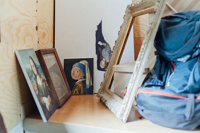 杉並区で、思い出を引き継ぐアートで秘密基地のようなセルフリノベーションのハリーポッターのホグワーツ魔法魔術学校