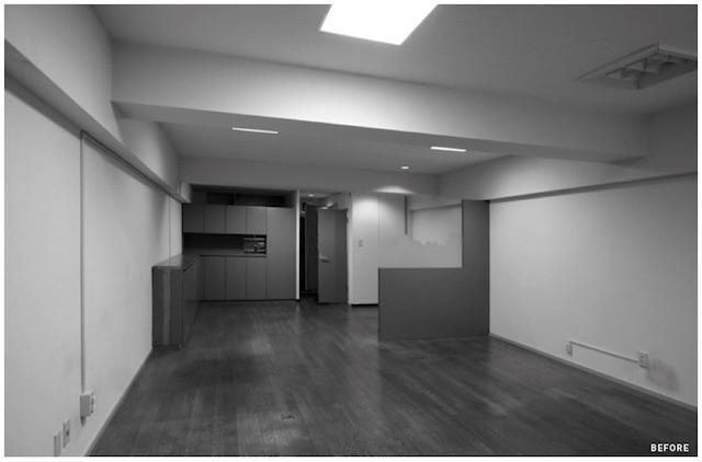 設計・施工を手がける「nu(エヌ・ユー)リノベーション」による1人暮らしのマンションをリノベして趣味を楽しむ無骨な部屋に_1