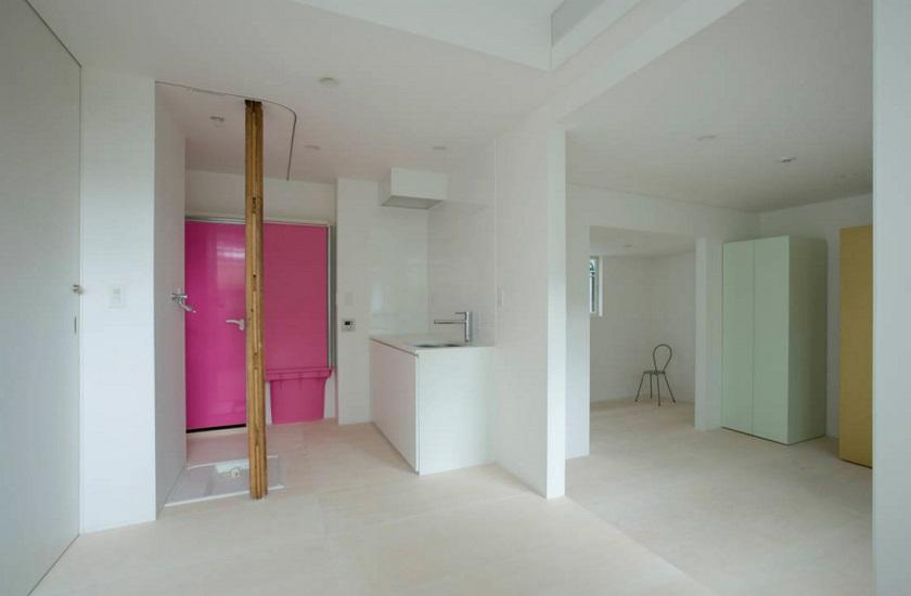 池田雪絵建築設計事務所による、東京都中野区の増築を重ねた木造2階建てのアパートのリノベーション_5