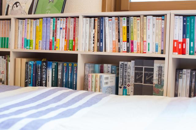 三軒茶屋で家賃9万の23平米ワンルームの家に1000冊の本と一緒に暮らすDIY好き男性の部屋の住み心地