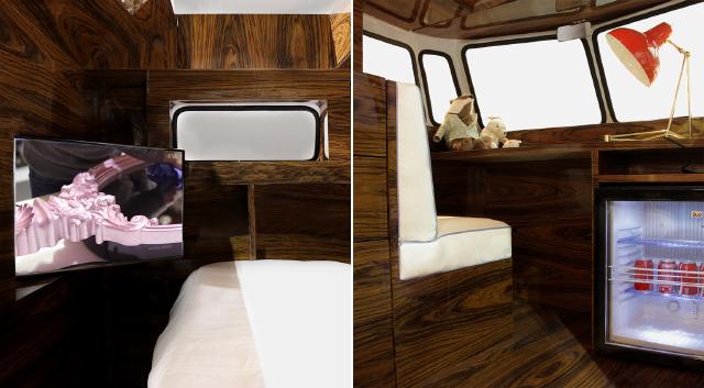 ワーゲンバスのデザインを踏襲したベッドBUN VAN_4