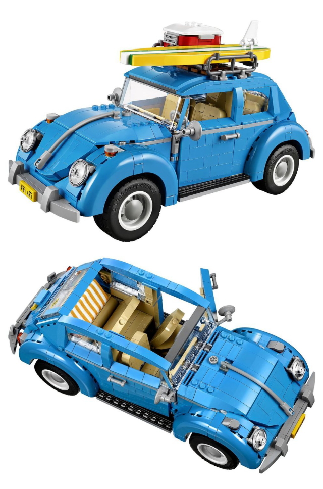 レゴのワーゲンのおもちゃがかわいくておしゃれ_5