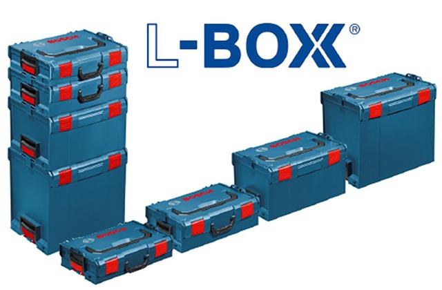 積み重ねられる、使いやすそうな構造のドイツ製ツールボックス「BOSCH L-BOXX」の紹介です1