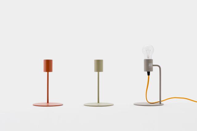 DoogdesignとHIGHTIDEが共同で制作した、本体、ケーブル、電球をコーディネートして、自分好みの照明にすることができる「pit.」はシンプルで上品な見た目なのでどんなインテリアにもフィットする一方で、ビビッドな色を組み合わせればアクセントとプラスする事もできます4