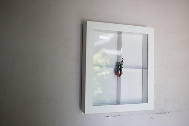 上野桜木あたりという古き良き日本の家である古民家のリノベについてkurachiffonの瀧内未来さんにインタビューの昆虫アート