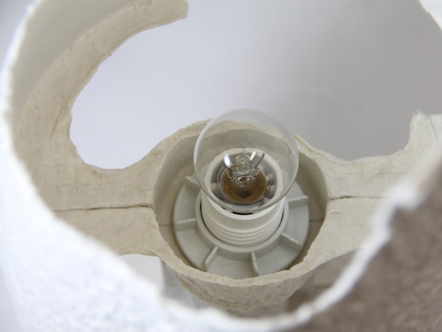 Knotによる自分でちぎってDIYするおしゃれな紙製のランプTearable Lamp_1