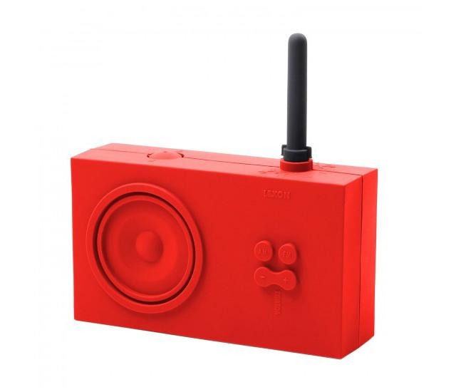 バスルームで使えるかっこよくておしゃれなポータブルラジオはLEXONのTYKHO RADIOティコラジオ_1