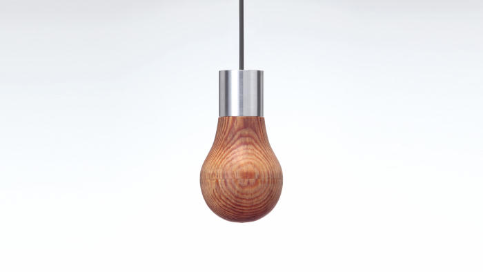 木製の電球「Wooden Light Bulb」は、プロダクトデザイナー福定良佑さんとオーストラリアのLEDON Lamp GmbH、そして伝統的な木工ろくろの技術コラボレーションによって生み出された「木製ランプ」のご紹介です。top