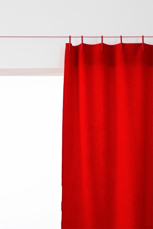 クリップで留めて吊るだけ。採寸不要のカーテン「ready Made Curtain」 Roomie(ルーミー)