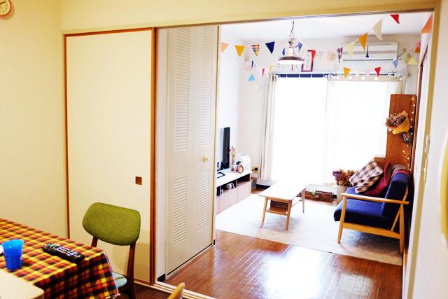 恵比寿の美容室RICCAで働く美容師であるサイトウジュンヤさん夫妻のおしゃれでロンドン仕込みのDIYが素敵な部屋_1