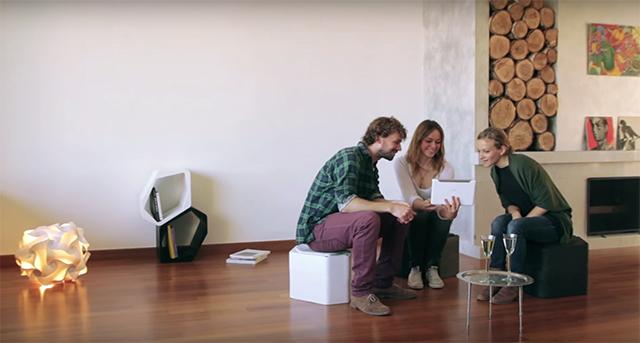使い方は決められていない家具「BUILD modular furniture」のご紹介。どう使うかは、あなたの創造力次第です。通常家具の組み立てに使われている接着剤には、人体にとって有害な成分が含有されているのですが、「BUILD modular furniture」にはそれが含まれていないためより安全いなっています。11