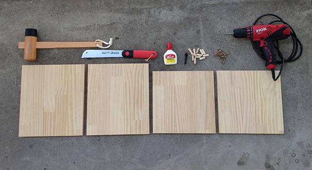 おしゃれで簡単な、DIY初心者はコレから始めたい、基本の箱型収納ボックス_1