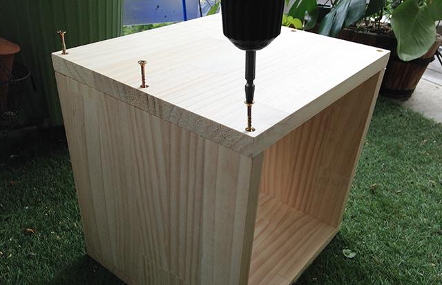 おしゃれで簡単な、DIY初心者はコレから始めたい、基本の箱型収納ボックス_5