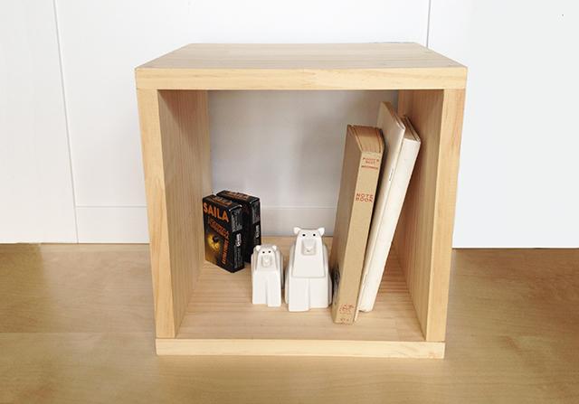 おしゃれで簡単な、DIY初心者はコレから始めたい、基本の箱型収納ボックス_9
