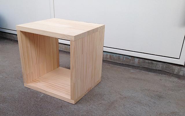 おしゃれで簡単な、DIY初心者はコレから始めたい、基本の箱型収納ボックス_2